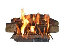 Vented Gas Logs provide the most realistic natural