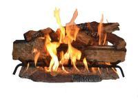 The Country Split Oak log set has an innovative dual