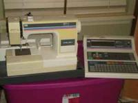 Old Melco embroidery machine, runs but needs little