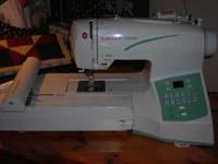 For Sale: Singer Futura 250 embroidery sewing machine.