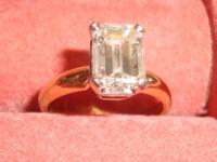 Just shy of 2ct. (1:76) Emerald cut VG finish VS2