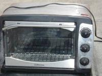 Great discount price OBO on Emerson chrome toaster oven