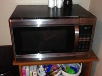 Clean and great working microwave. Moving and have too