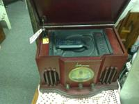 Emerson reproduction radio and CD player. Great sound.