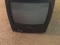 "Great little 13"" TV/VCR Combo. Just like new. Color and"