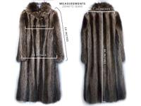 Gorgeous Well Made Genuine Raccoon Fur Coat In