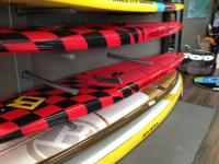 We have a 14' Cali stand paddleboard for $300 off.