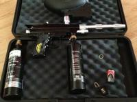 Empire Paintball Marker full set of equipment and hard