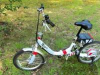 I'm offering my Empowered Agilis E-Bike. I mainly used
