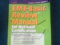 EMT basic review manual book for sale in good condition