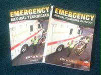 Emergency medical technician books for sale with work