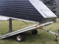 Confined R & & R Snowmobile Trailer for Sale-- Trailer