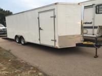 "Enclosed ""Car Hauler"" Trailer For Sale along with"