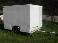 It has been used as tool trailer but clean to turn in