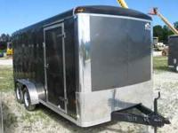 NEW....MTI Enclosed 7x16 cargo trailer, tandem axle,