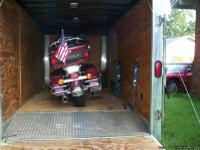 Selling (1) motorcycle hauler/trailer. Totally