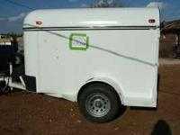 Circle C Enclosed Trailer 5x8 inside measurement 2001