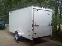 2011 model, 6X12 enclosed trailer weas purchased in OK