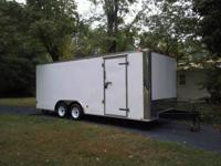 2010 Cargo South Enclosed Trailer 8.5' x 20' Tandem