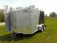 2011 Brand new 7x16 Look trailer. Prehung side door.