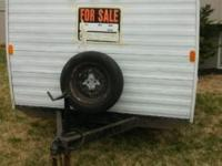 6x8 enclosed trailer ceiling has a 4 1/2ft height no