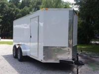 NEW! This enclosed trailer is from our Fayetteville,