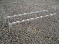 7-8 foot aluminum enclosed trailer ladder racks