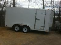 Like new 7 X 14, 2011 Forest River enclosed trailer;