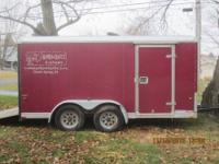 "1999 Enclosed 14 foot long x 7 foot wide x 73""tall."