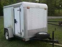 Enclosed utility trailer 5x8, custom HEAVY DUTY fold