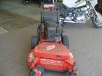 Encore 32 inch cut walk behind mower, works great, 12hp
