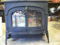 Encore wood stove! Model number 2550. Made by Vermont