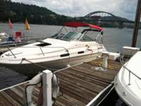 A VERY NICE, WELL KEPT, 1993 SEA RAY SUNDANCER 230  IT