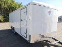 NEW!!!2013 20ft Enclosed Car Hauler Stocked Standard