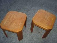 I have two End Tables. Great for a door/apartment or