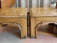 I have a collection of 3 coordinating side tables. $29