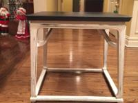 "End Table/Accent Piece  26"" d x 22"" w  x 25"" h  Dark"