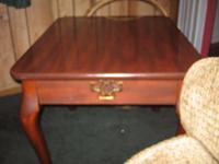 Nice End Table and Coffee Table for sale cherry for