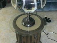 I have a lamp and end table for sale. The end table
