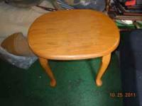 I have a end table for sale asking $6.00 obo please