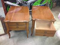 A PAIR OF 1960'S ERA END TABLES.  IN GREAT CONDITION,