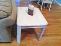 I have 2 end tables that I need to sell ASAP. Call