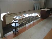 Glass top coffee table and end tables, $100 Set