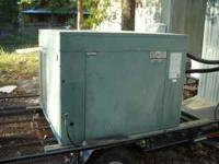 60000btu industrial water chiller. new construction by