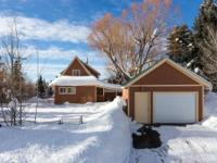 A hidden treasure in downtown Steamboat on 1/3 acre and