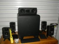 Energy RC-Micro 5.1 Surround Speaker System (Black) I