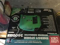 Energy storm genarator Brand new in box!!!!!!!!