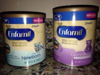 (1) 12.5 oz Enfamil Newborn and (1) 12.4 oz Enfamil