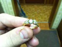 I got a beautiful engagement ring that I's 1.2 carot