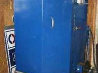 Excellent working hot water pressure washing cabinet